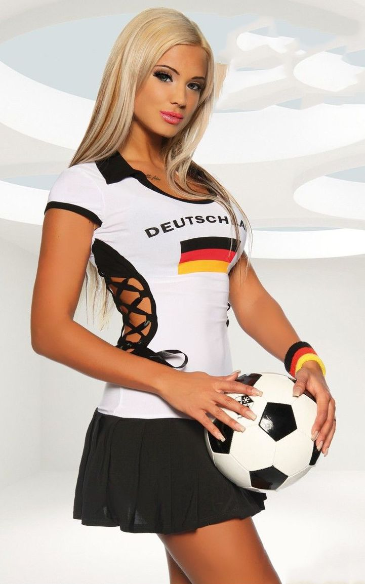 World Cup jersey mini dress