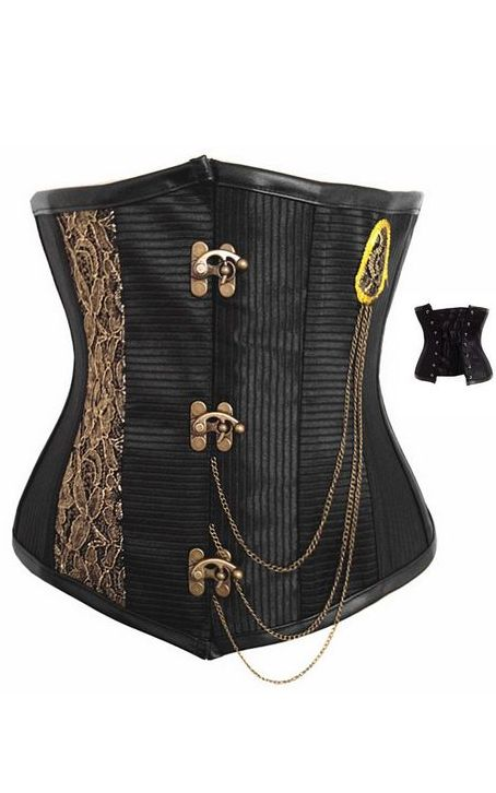 Tough Steampunk underbust corset