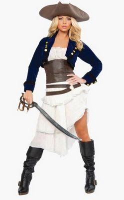 F66148  Deluxe Colonial Pirate Costume