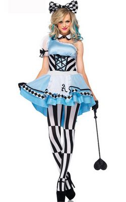 F1512 Psychedelic Alice Costume