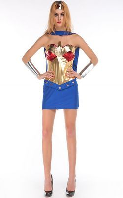 F66171 Sexy Warrior Woman Costume