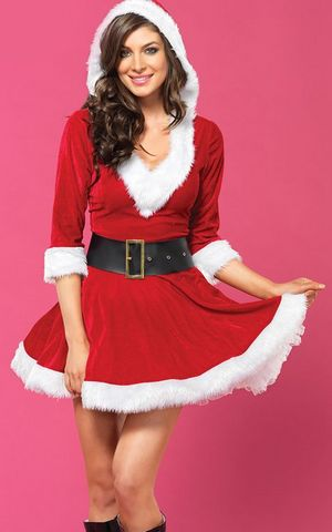 FC139 Sassy Mrs Claus Costume