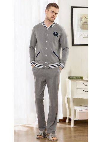 SL80014-1  Garment for Outer Wear Sports Pure Cotton Pajamas