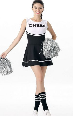 F1749 Korean womens team students cheerleaders costume