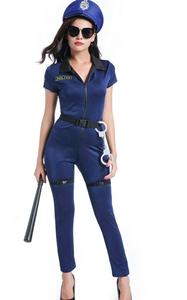 F1756 Lieutenant Ivana Misbehave Police Officer Adult Costume