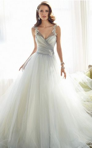WD3041  lace wedding dress