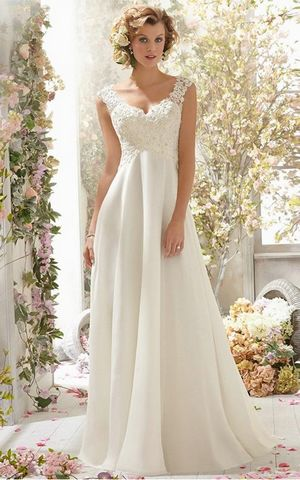 WD4042 slim wedding dress