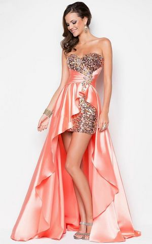 WDDH1501-4 Bride evening gown