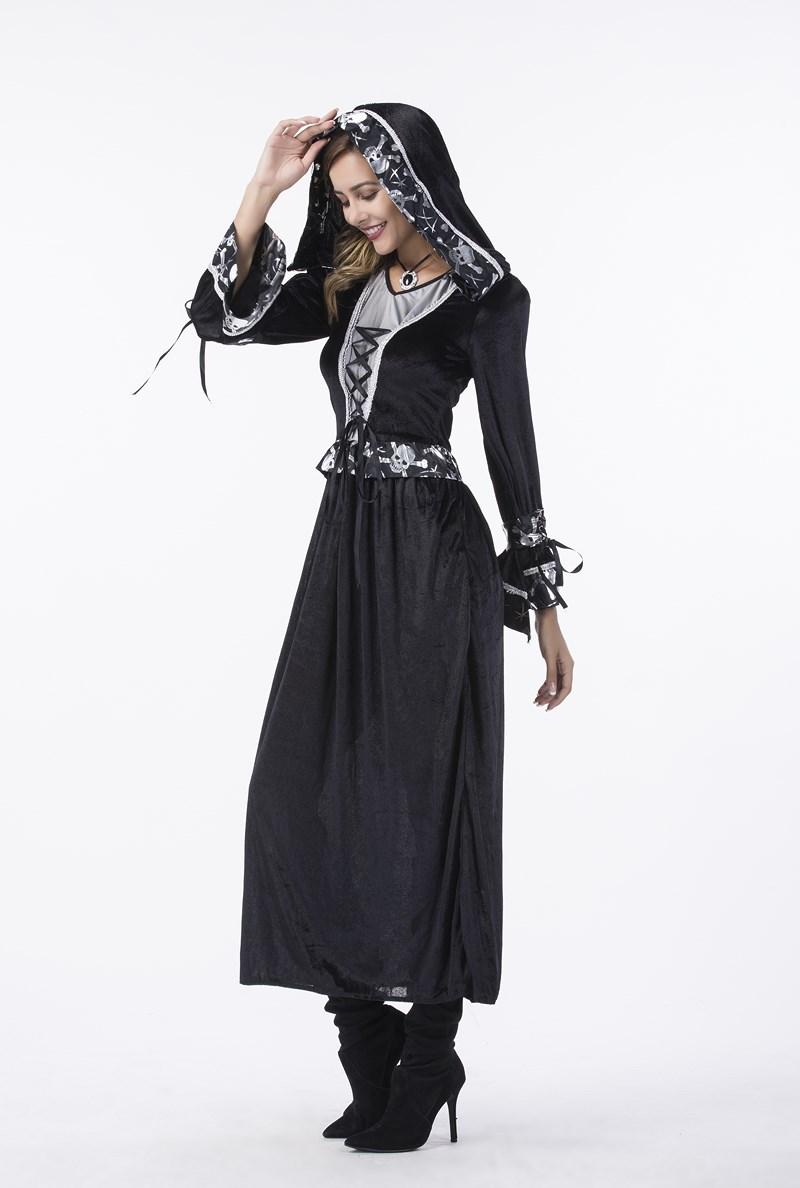 F1798 WomenS Deluxe Lace Zombie Bride Costume ...