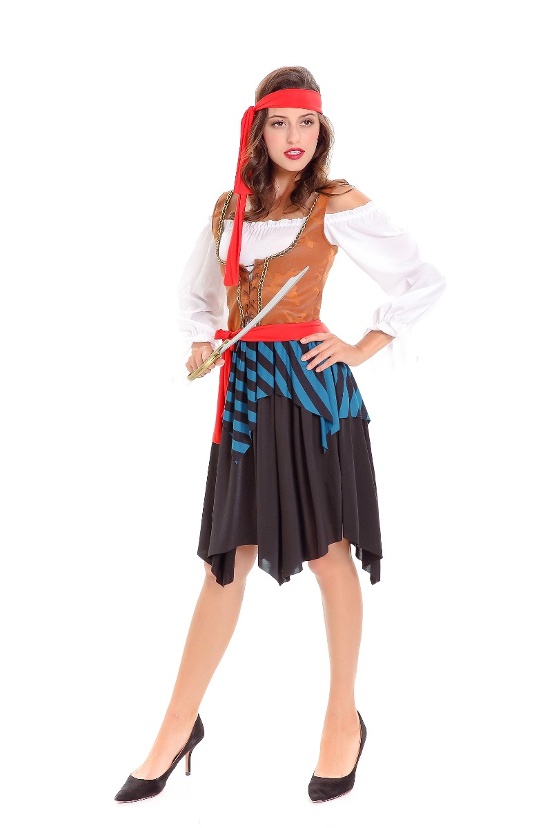F1807 Adult Queen Of The High Seas Costume