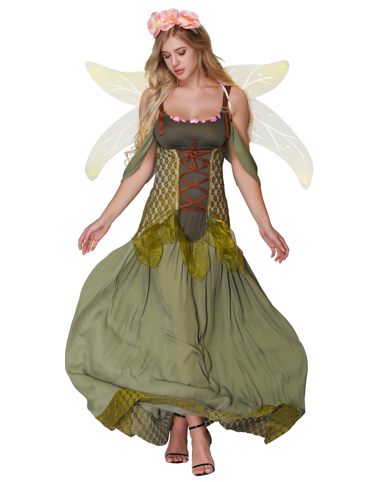 F1824 Forest Princess Costume Adult Halloween Fairy Costume