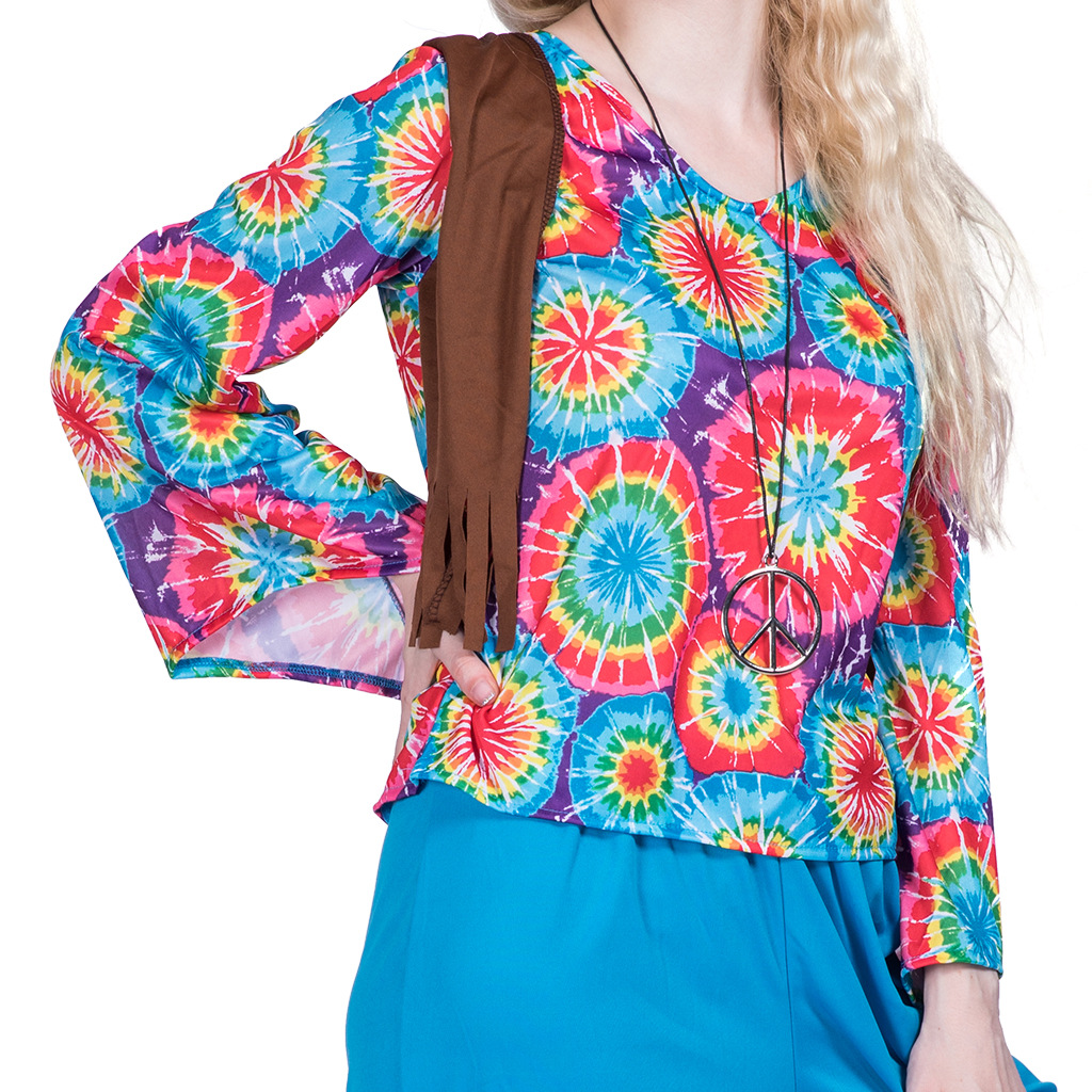 F1859 hippie costume for women