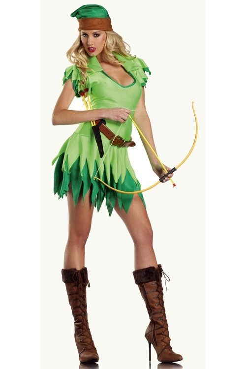Peter Pan To Robin Hood Costume