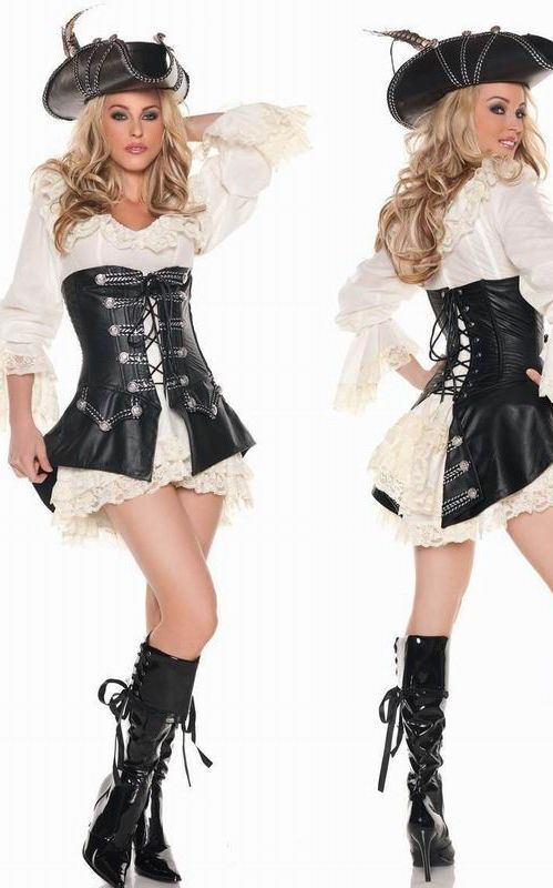 Rogue Pirate Dress Costume