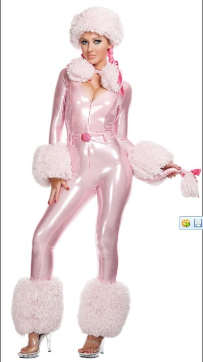Sexy Pink Poodle Costume
