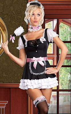 Miss Dee LightfulFrench MaidCostume